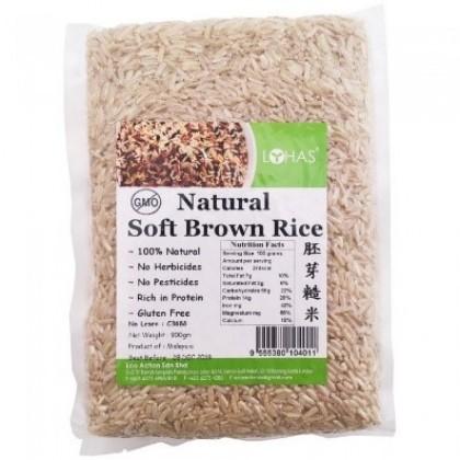 Lohas Natural Soft Brown Rice 900G