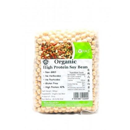 Lohas Organic High Protein Soy Bean 500g